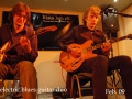 electric blues guitar duo